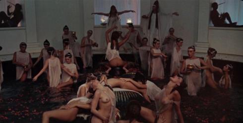 de Romeinse orgie koperen tiener porno